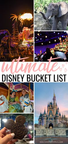 There are so many amazing things to do at Disney Parks- check out our bucket list for all the best ideas! #visitdisney #bucketlist #familytravel Disney Vacation Club, Walt Disney World Vacations, Disney Travel, Family Vacations, Family Travel, Disney World Tips And Tricks, Disney Tips, Disney Magic, Disney World Parks
