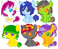 Please adopt these foals. 6 is mine
