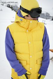 2013 270 ˚ Spin Down Vest - Yellow from rompru.cafe24.com // $174.90