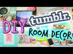 DIY Tumblr Inspired Room Decor! Cute + Cheap For Spring! - YouTube