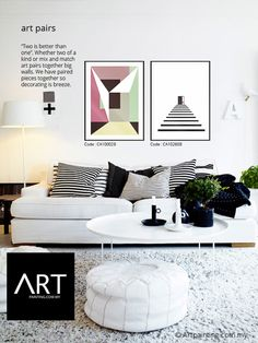 Two is always better than one. Introducing our new series -- ART PAIRS Whether two of a kind or mix and match art pairs together big walls. We have paired pieces together so  decorating is breeze. Please call 03-8962 3288 for more information. #artprinting #artmalaysia #artpaintingmalaysia #canvasprinting #canvasart #walldecor #wallart #walldecor #interiordesign #artpiece #wallpainting #wallpaintings #wallpaintingart #canvasart #canvasprint #canvaspainting #interiordesignideas…