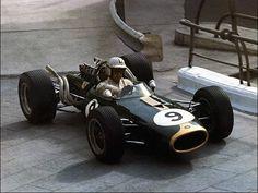 Denny Hulme - winner 1967 Monaco Grand Prix in a Brabham BT20, his first F1 win
