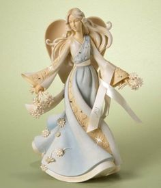 Enesco Foundations Joy Angel Figurine, 9-Inch by Enesco Gift, http://www.amazon.com/dp/B0069Q8DI0/ref=cm_sw_r_pi_dp_FSHUrb1MBJAAV