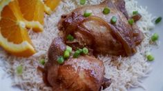 An easy slow cooker recipe with soy sauce, garlic, and onion. Do not be put off by the vinegar -- it tenderizes the chicken and loses its potent flavor in the cooking.