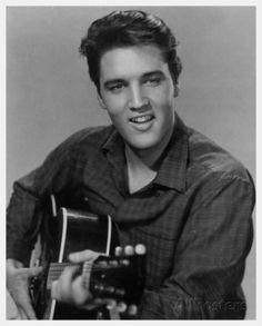 Elvis Presley King Creole Posterkarte