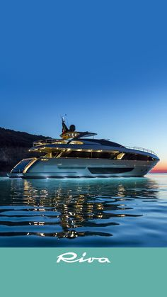 The Riva 100' Corsaro Luxury Yacht