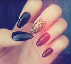 shade acrylic nails styles - http://coolnaildesignsz.com/color-acrylic-nails-designs/