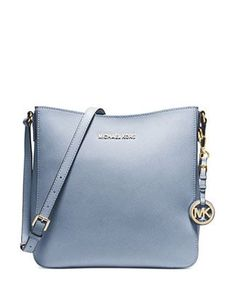 e119e3ddf462 Michael Michael Kors Jet Set Saffiano Large Traveler Messenger. Cheap ...