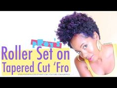 Flawless Roller Set Tips for Type 4 Natural Hair | Curly Nikki | Natural Hair Styles and Natural Hair Care