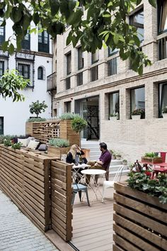 TOC Hostel & Suite Sevilla, Seville, 2014 - GCA Architects