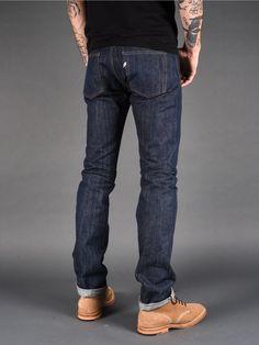 Pure Blue Japan KS-013 16 oz Slim Tapered Jeans