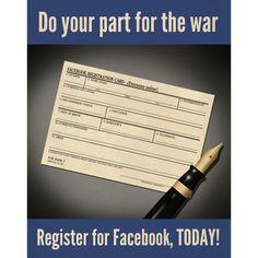 Facebook Propaganda poster #2