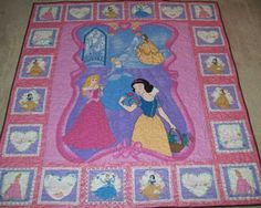 Disney Princess quilt