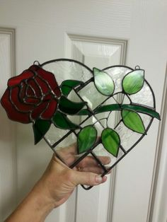 Rose heart I made for a friend
