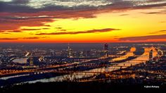 Wake up! Hdr, Vienna, Wake Up, Airplane View, Filters, Celestial, Sunset, Yellow, Outdoor