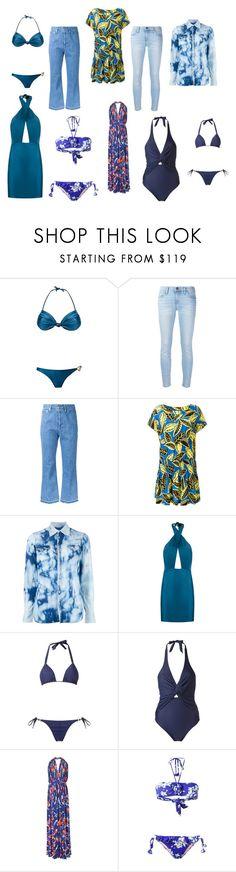 """branded fashion"" by kristen-stewart-2989 on Polyvore featuring ADRIANA DEGREAS, Current/Elliott, CITYSHOP, Boutique Moschino, Dsquared2, Amir Slama, Emilio Pucci, Emmanuela and vintage"