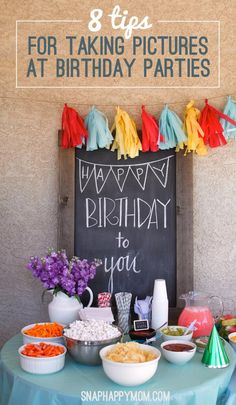 Make the most out of birthday parties by learning these simple photography tips to maximize your memories.