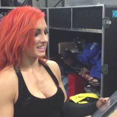 The sexy wwe smackdowns becky lynch in a tight vest. Wwe Divas Paige, Wwe Nxt Divas, Becky Lynch, Wrestling Divas, Women's Wrestling, Hottest Wwe Divas, Becky Wwe, Rebecca Quin, Wwe Girls