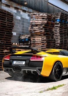 Lamborghini Murcielago SV  Luddem pellet boards!!