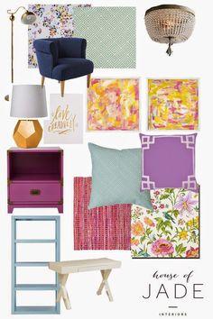 6th Street Design School : Tween Girl's Room Planning