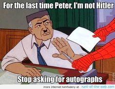 Spider-Man Meme Hitlers Autograph