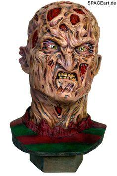 Nightmare on Elm Street: Freddy - Life Size Büste, Modell-Bausatz ... http://spaceart.de/produkte/nes002.php