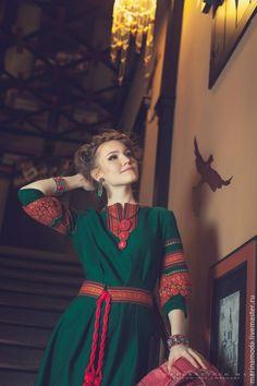 Магазин мастера ETNO FRESH.Дизайнер Марина Вилисова: платья, верхняя одежда, жилеты, одежда и аксессуары, этническая одежда Textiles, Vintage, Style, Fashion, Moda, Stylus, Fasion, Vintage Comics, Trendy Fashion