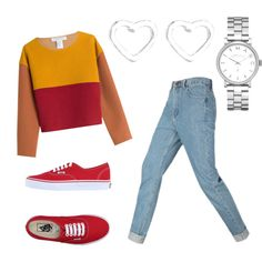 A fashion look from November 2015 featuring Philosophy di Lorenzo Serafini sweaters, Vans sneakers and Marc by Marc Jacobs watches. Browse and shop related loo…
