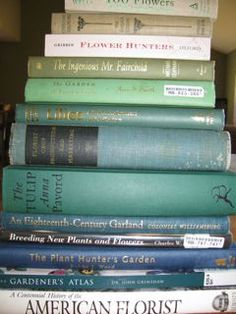 recommended reading list for floriculture from The Flower Farmer