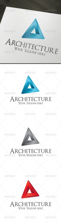 Architecture - Logo Design Template Vector #logotype Download it here: http://graphicriver.net/item/architecture/4418186?s_rank=947?ref=nexion