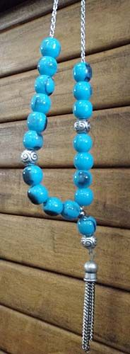 """Turquoise"" Worry Beads/Komboloi"