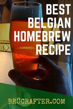 #homebrewing #homebrewrecipes #belgianale #brucrafter