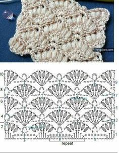 Watch This Video Beauteous Finished Make Crochet Look Like Knitting (the Waistcoat Stitch) Ideas. Amazing Make Crochet Look Like Knitting (the Waistcoat Stitch) Ideas. Gilet Crochet, Crochet Motifs, Crochet Flower Patterns, Crochet Diagram, Crochet Stitches Patterns, Tunisian Crochet, Crochet Chart, Love Crochet, Beautiful Crochet