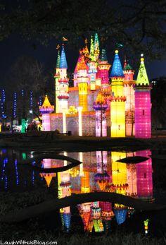 Chinese Lantern Festival at Fair Park in Dallas, TX
