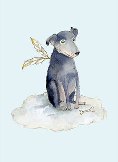 Dog Illustrations by Tracey Long