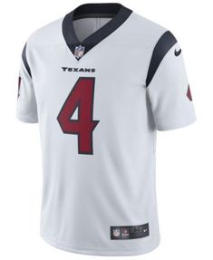 ee39bfa495f Nike Men's DeShaun Watson Houston Texans Vapor Untouchable Limited Jersey -  White 3XL Deshaun Watson,