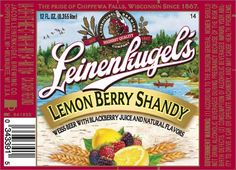 Leinenkugel Lemon Berry Shandy