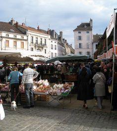 Saturday Market ~ Beaune, France