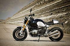 BMW R NineT Versus a Vintage Ducati Collection • Gear Patrol