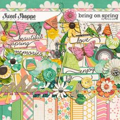 Bring On Spring by Erica Zane available at Sweet Shoppe Designs