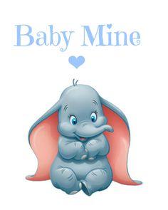 Dumbo Baby Mine Nursery Printable Instant by RachelsMagicalPrints, £3.00