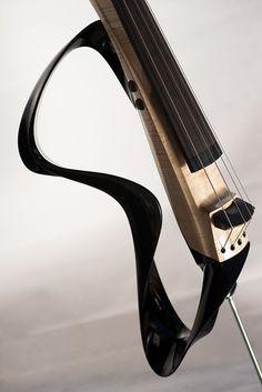 DSDV 3 electric upright bass by Piotr Sell, via Behance