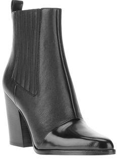 KENZO - heeled chelsea boot 6