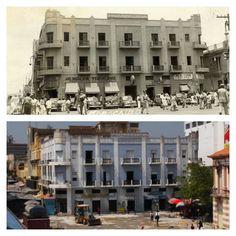 Algunas Fotos Antes Y Después que he encontrado del Casco de nuestra Maracaibo. Antes Y Después Hotel Victoria y calle 99 Comercio (año 1940 - 2015).