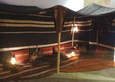خيمة داخل المتحف الوطني