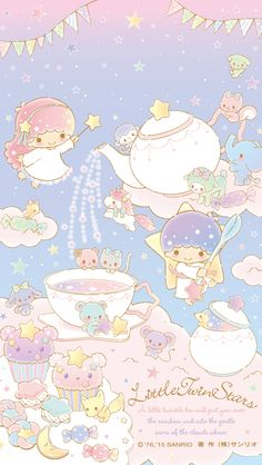 ★Wallpaper 1280x1024 ★ #LittleTwinStars