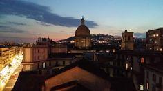 Napoli, rooftop sunset