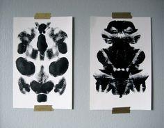 DIY Rorschach Prints
