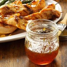 "Lemon-Rosemary Marmalade Recipe - Taste of Home - ""I love the flavor combination of lemon and rosemary. This unique marmalade goes great with roast chicken, herbed pork roast, lamb chops or a savory biscuit.""—Birdie Shannon, Arlington, Virginia"