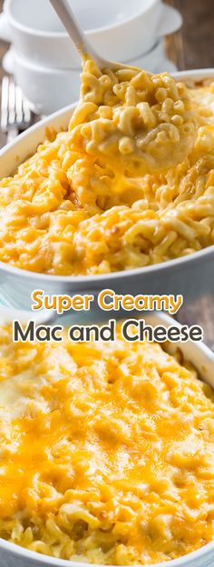 The Best Baked Mac and Cheese Macaroni Cheese Recipes, Bake Mac And Cheese, Baked Macaroni, Mac Cheese, Cheese Food, Mac N Cheese Easy, Mac And Cheese Receta, Mac N Cheese Casserole, Low Calorie Recipes